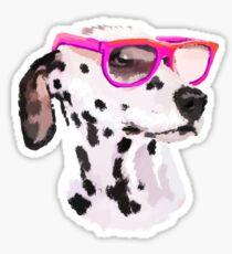 Dalmatian Dog Sticker