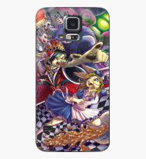 Alice im Wunderland Hülle & Klebefolie für Samsung Galaxy