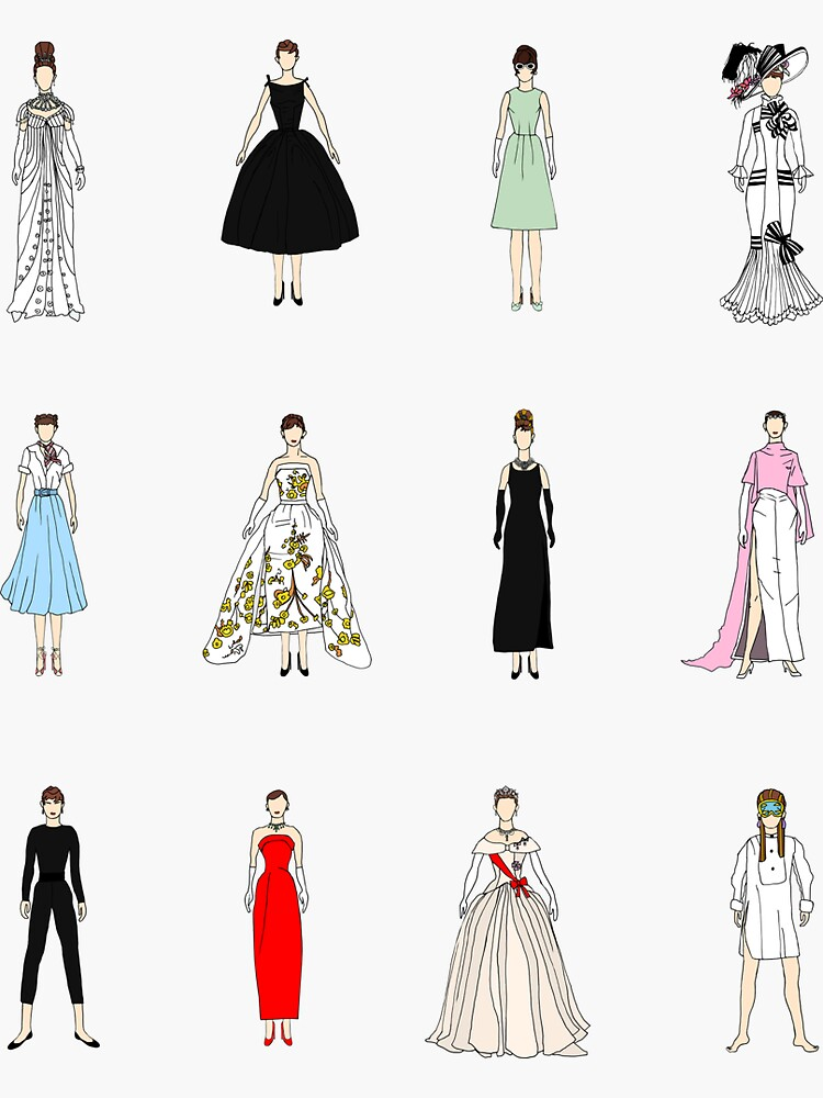 Audrey Dolls and Dresses by notsniwart