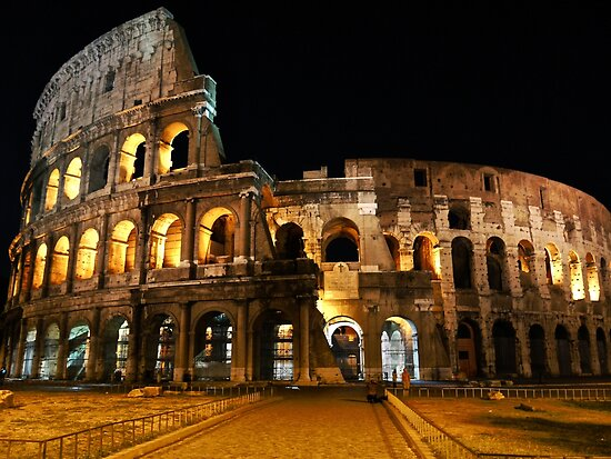 Roman Coliseum by Rae Tucker