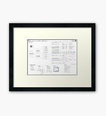 PE101 a Windows executable walkthrough Framed Print