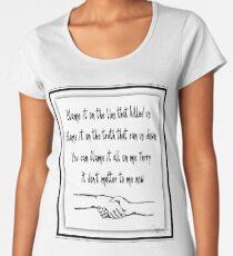 Bruce Springsteen Words. Backstreets 2 Women's Premium T-Shirt