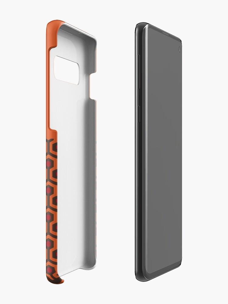 Alternate view of The Shining Floor Pattern Minimalist Case & Skin for Samsung Galaxy