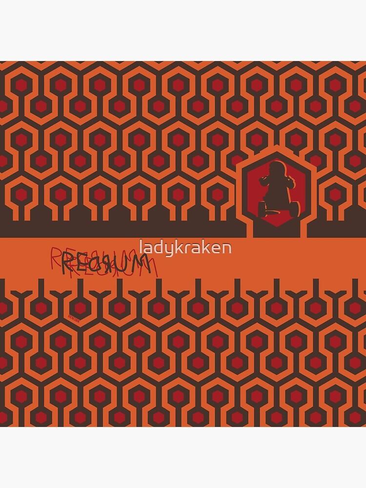 The Shining Floor Pattern Minimalist by ladykraken