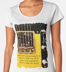 Springsteen Lyrics Tribute. Tougher Than The Rest Women's Premium T-Shirt