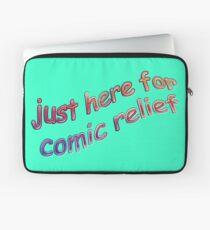 Comic Relief Laptop Sleeve
