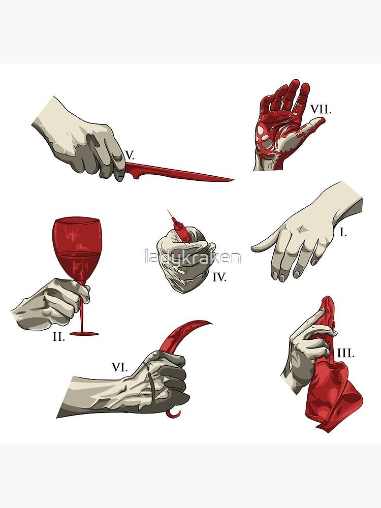 Hannibal Inspired Pattern by ladykraken