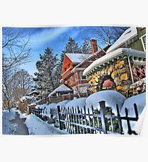 Bright winter day Poster