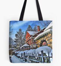 Bright winter day Tote Bag