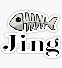 Jing Name / Inspired by The Color of Money Sticker
