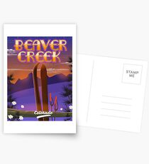 Beaver Creek Ski Colorado Postcards