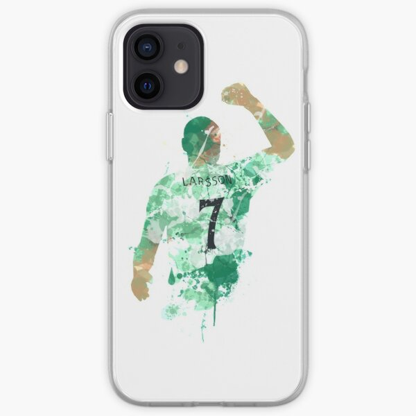 Henrik Larsson Celtic Legend Art iPhone Soft Case