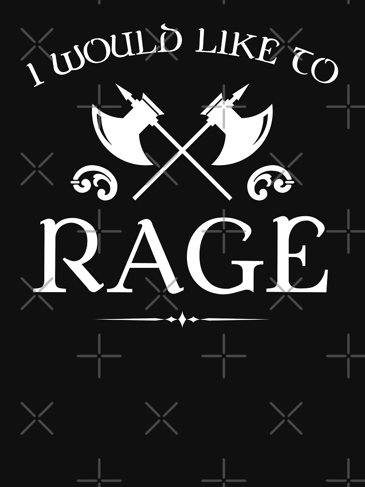 Barbarian - I Would Like To Rage by pixeptional