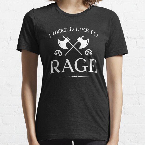 Barbare - Je voudrais faire rage T-shirt essentiel