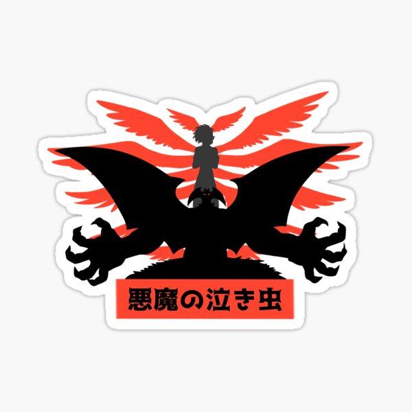 Devilman and Lucifer Sticker