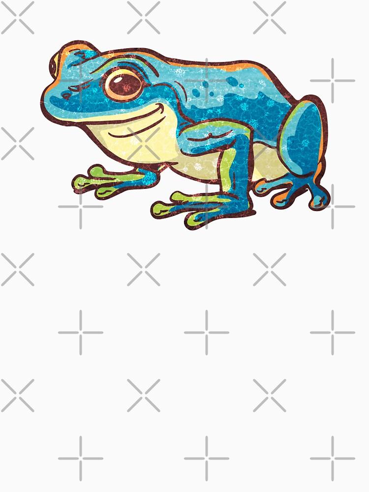 blue frog by duxpavlic