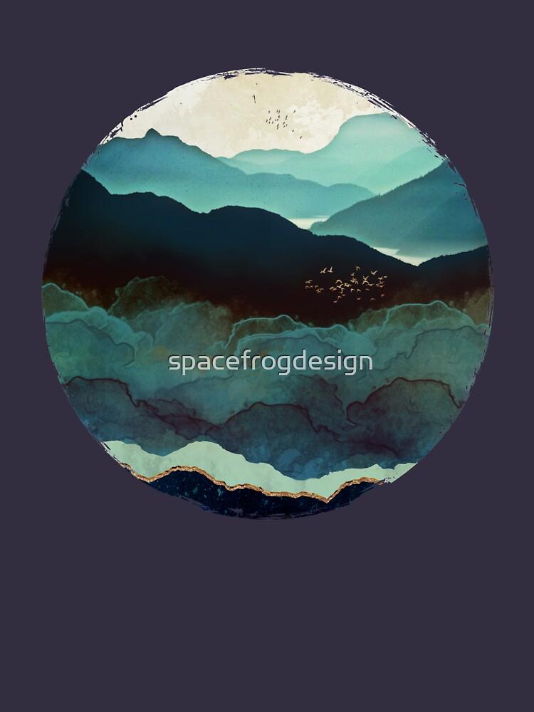 Indigo Mountains by spacefrogdesign