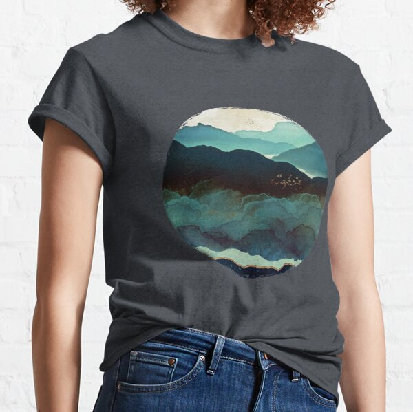 Indigo Mountains Classic T-Shirt
