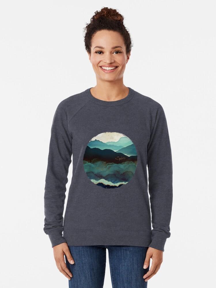 Alternate view of Indigo Mountains Lightweight Sweatshirt
