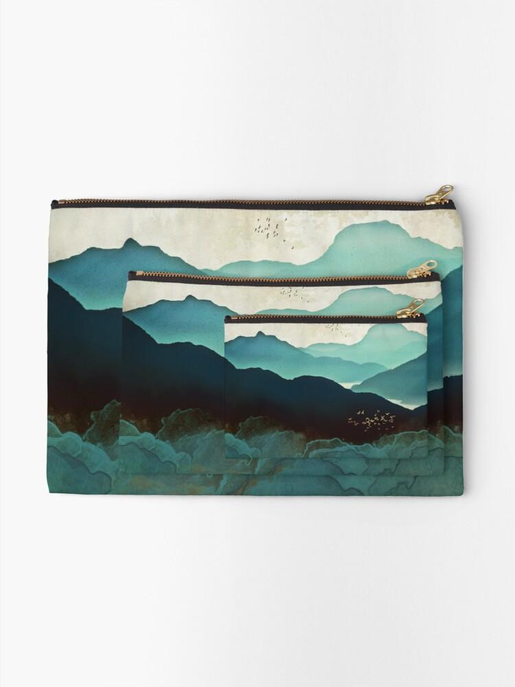 Alternative Ansicht von Indigo-Gebirge Täschchen