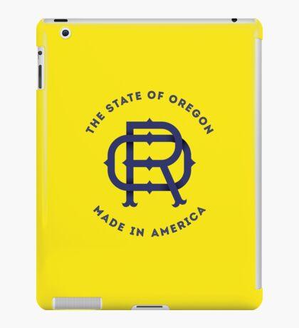 OR Oregon Monogram iPad Case/Skin