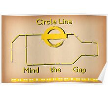 Circle Line Poster