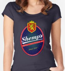 Shemps Beer Women's Fitted Scoop T-Shirt