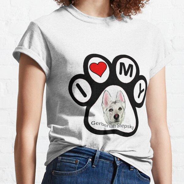 I Love My Gerberian Shepsky! Classic T-Shirt