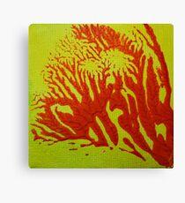 """""""Savannah No.2"""" abstract artwork by Laura Tozer Canvas Print"""