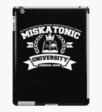 Miskatonic University Arkham Mass iPad Case/Skin