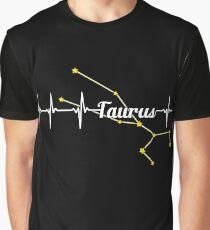 Taurus Heartbeat Graphic T-Shirt