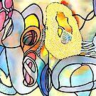 Golden Orbs by mogodbeer