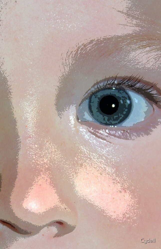 She has my eyes.. by Cydell