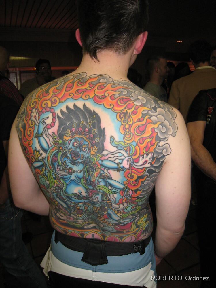 tattoo by Robert Ordonez