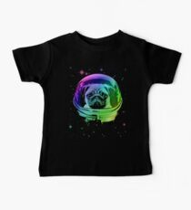 Space Pug Baby Tee