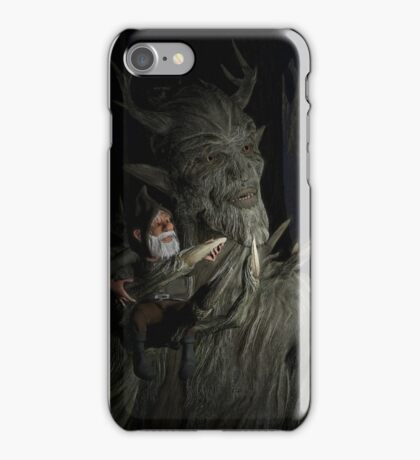 The Forest King And Friend iPhone Case/Skin
