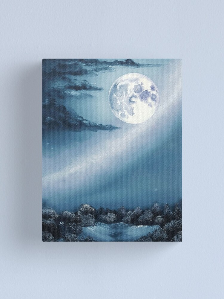 Alternate view of Paint the Sky with Stars Canvas Print