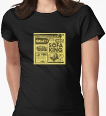 Sofa King Women's Fitted T-Shirt