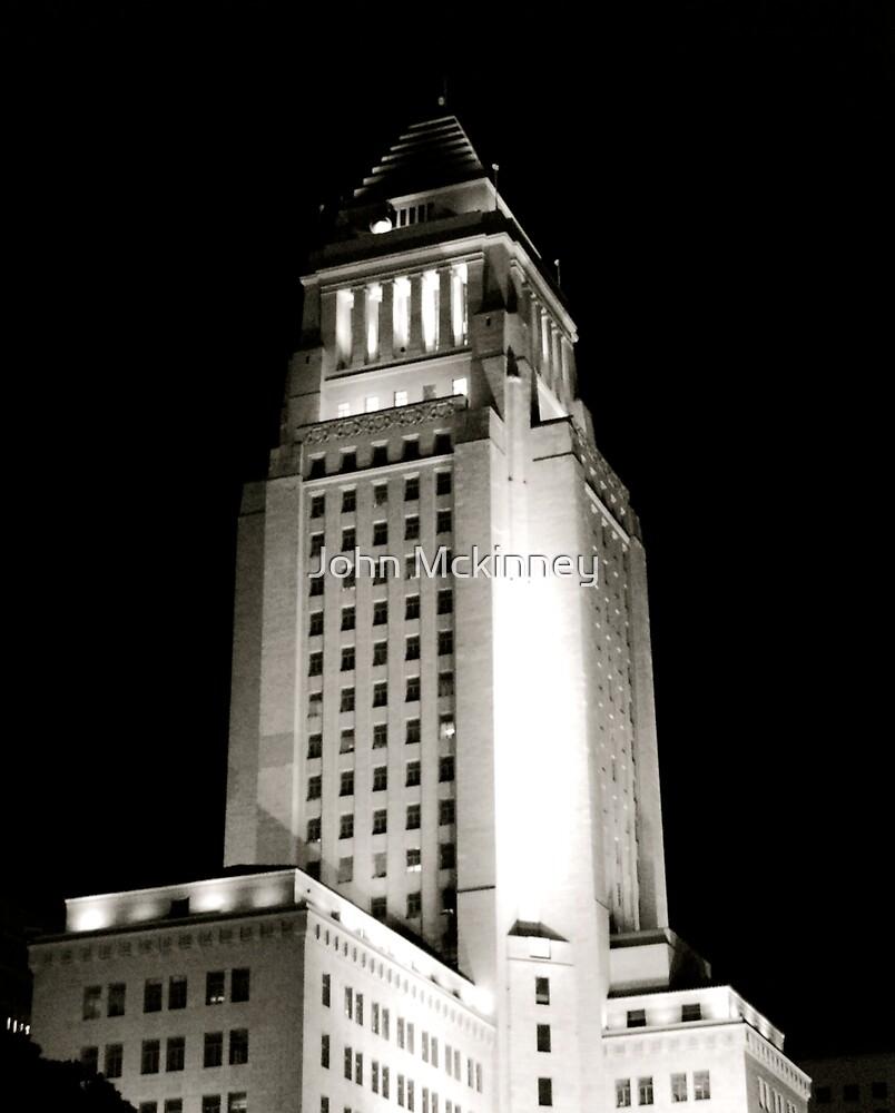 Los Angeles City Hall by John Mckinney