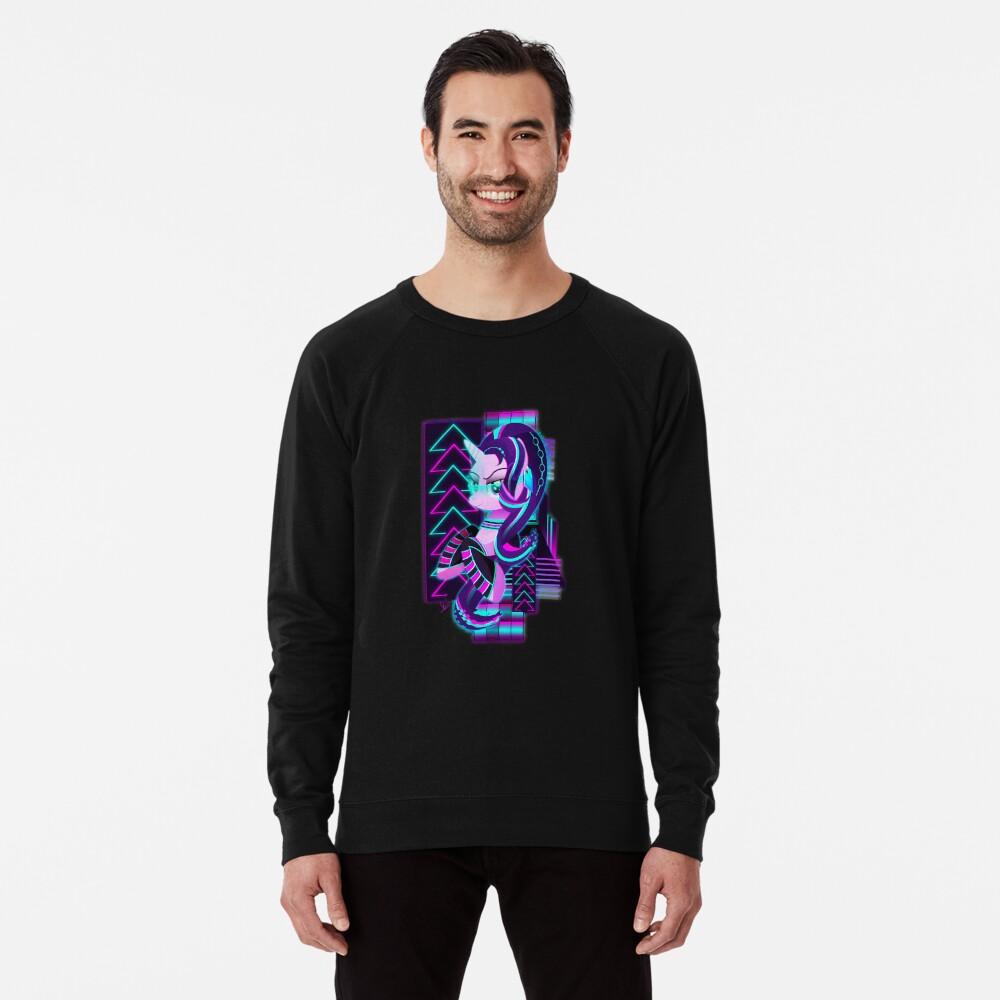 Synthwave Starlight Glimmer Leichter Pullover