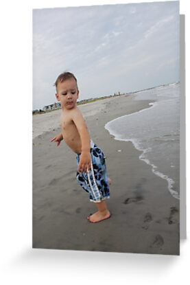Boys First Beach Day by Amy E. McCormick