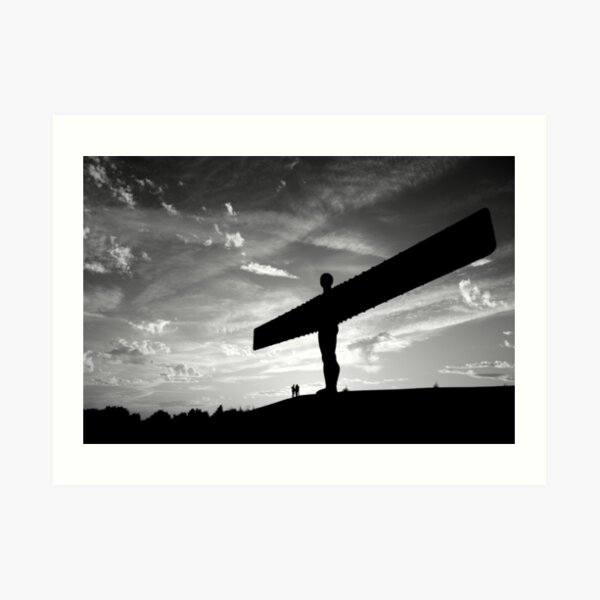Angel Of The North, Newcastle-Gateshead Art Print