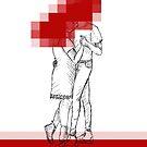 Red for Valentine  by Banarn
