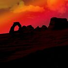 ARCHES SUNSET by Thomas Barker-Detwiler