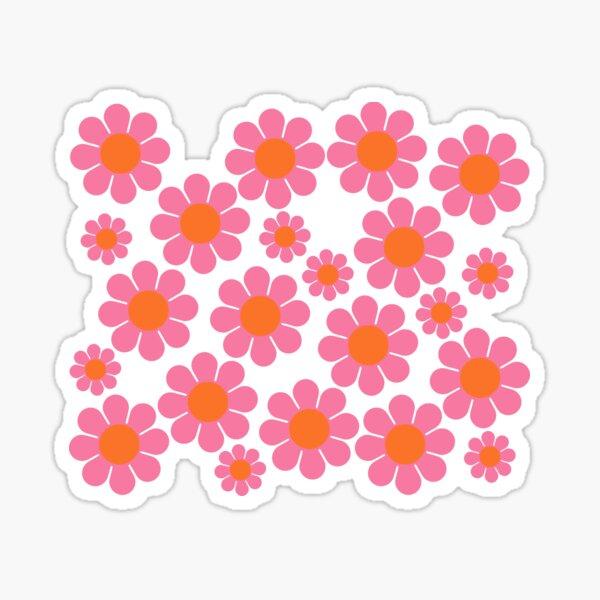 Koryn's Custom Flower Pattern 1 Sticker