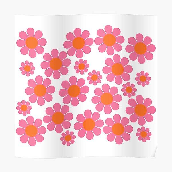Koryn's Custom Flower Pattern 1 Poster