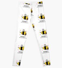 WWBD Beesus loves you Leggings