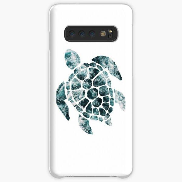 Sea Turtle - Turquoise Ocean Waves Samsung Galaxy Snap Case