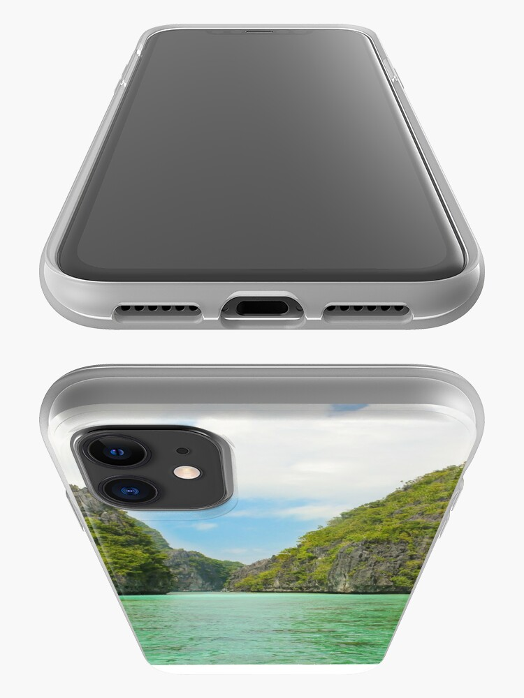 Alternate view of Paradise landscape El Nido Palawan Philippines iPhone Case & Cover