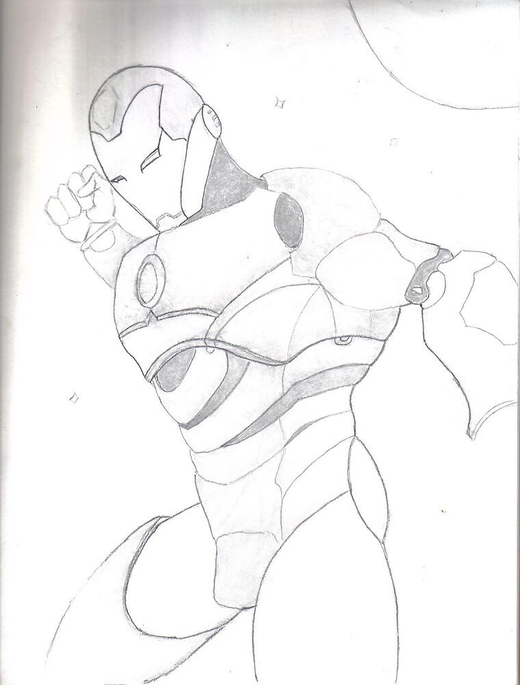 Iron Man by direngrey89
